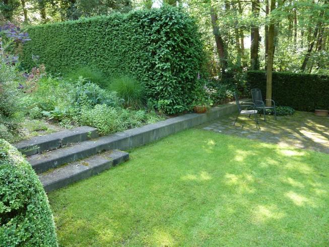 Buro mien ruys tuin landschapsarchitekten tuin in wageningen - Tuin hellende ...
